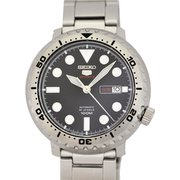 SRPC61J1 [腕時計 Seiko 5 Sports(セイコー5スポーツ) Auto 自動巻き メンズ メタルバンド ブラック]