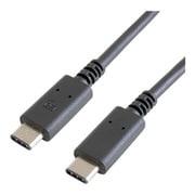 GP-CCU2E90CM/B [USB2.0ケーブル Type-C to Type-C 90cm ブラック]