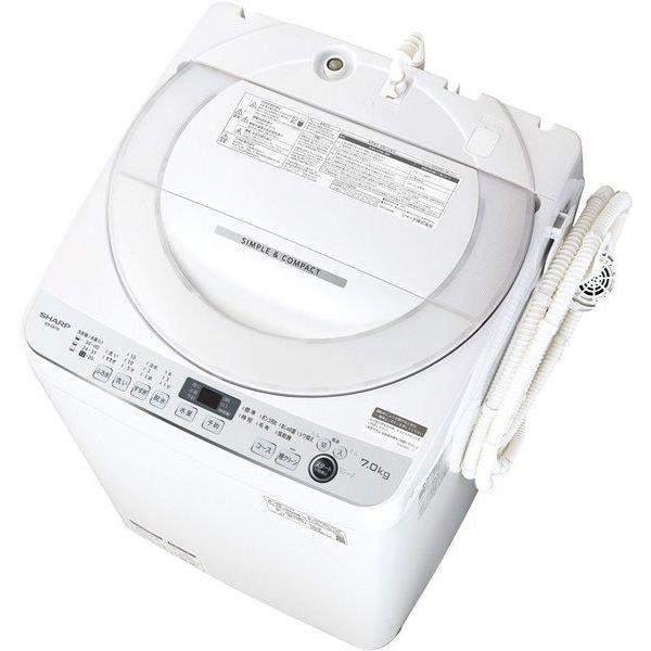 ES-GE7E-W [全自動洗濯機 7.0kg ホワイト系]
