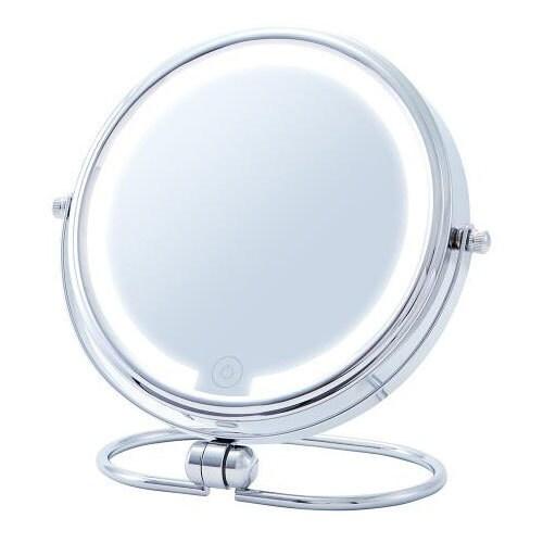 KBE-3220/S [拡大鏡 LEDミラー USB充電式 無敵ミラー Muteki Mirror 等倍/5倍]