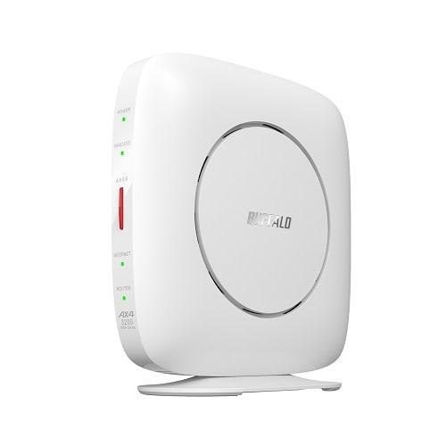WSR-3200AX4S-WH [Wi-Fi 6(11ax)対応 無線LANルーター AirStation(エアステーション)ー スタンダードモデル ホワイト]