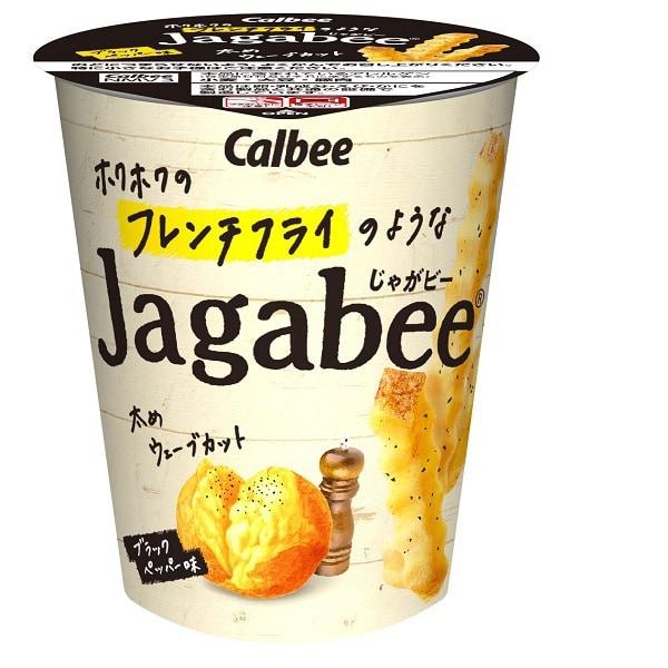 ホクホクのフレンチフライのようなJagabee ブラックペッパー味 35g