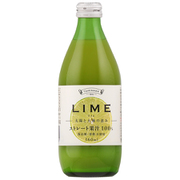 TOMINAGA ライム ストレート果汁 100% 瓶 360ml