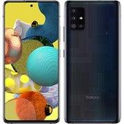 SCG07(K) Galaxy A51 5G プリズム ブリックス ブラック [スマートフォン]
