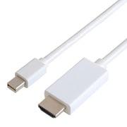 GP-MDPHD/W-20 [Mini DisplayPort→HDMIケーブル 2m ホワイト]