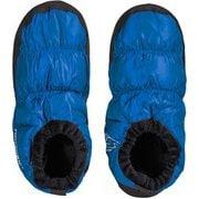 モス ダウンシューズ Mos down shoes 109060 リモージュブルー Lサイズ [アウトドア ダウン小物]