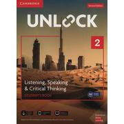 Unlock 2nd Edition Listening Speaking & Critical Thinking Level 2 Student's Book Mob App and Online Workbook w/Downloadable Audio and Video [洋書ELT]