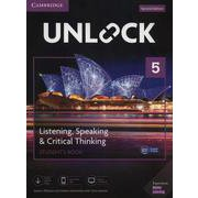 Unlock 2/E Listening Speaking & Critical Thinking Level 5 Student's Book Mob App and Online Workbook w/Downloadable Audio and Video [洋書ELT]