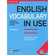 English Vocabulary in Use Elementary 3rd Edition Book with answers and Enhanced eBook [洋書ELT]