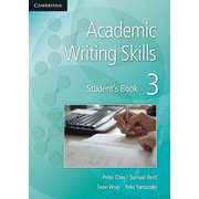 Academic Writing Skills Level 3 Student's Book [洋書ELT]