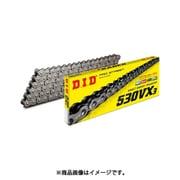 530VX3 100FB [クリップ STEEL(スティール) バイク用チェーン]