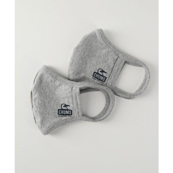 チャムス ベーシックマスク CHUMS Basic Mask Sサイズ(子供・女性向けサイズ) HGY ヘザーグレー 2枚入り CH09-1226