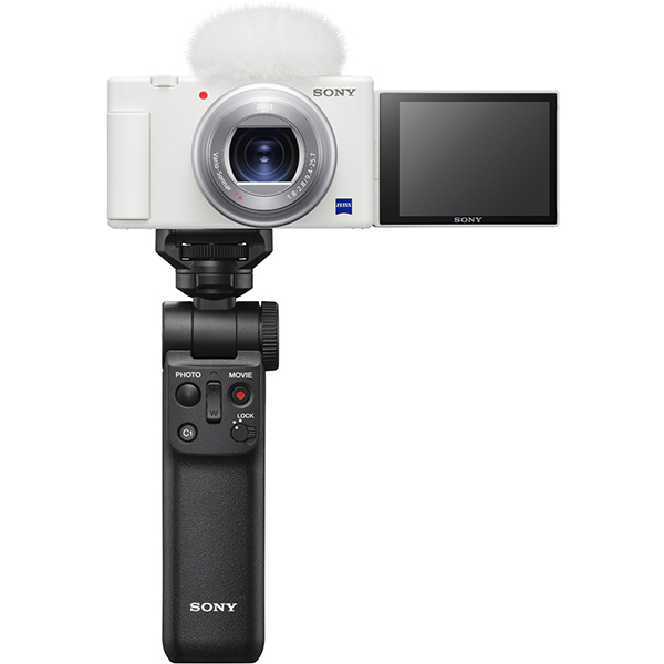 VLOGCAM ZV-1G WC [Vlog撮影向けデジタルカメラ シューティンググリップキット ホワイト]