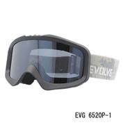 EVG 6520P-1 [スキー&スノーボード用ゴーグル EVOLVE MIGHT ヘルメット対応]