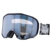 EVG 8021-1 [スキー&スノーボード用ゴーグル EVOLVE CANOPUS 眼鏡対応 ヘルメット対応]