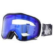 EVG 8021-2 [スキー&スノーボード用ゴーグル EVOLVE CANOPUS 眼鏡対応 ヘルメット対応]