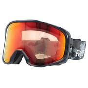 EVG 8021-3 [スキー&スノーボード用ゴーグル EVOLVE CANOPUS 眼鏡対応 ヘルメット対応]