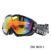 EVG 9019-1 [スキー&スノーボード用ゴーグル EVOLVE WOLF ヘルメット対応]