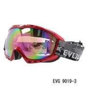 EVG 9019-3 [スキー&スノーボード用ゴーグル EVOLVE WOLF ヘルメット対応]