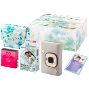 INS HM1 BEIGE GOLD GIFTBOX WEB限定モデル [チェキ instax mini LiPlay BEIGE GOLD ギフトBOX WEB限定モデル]