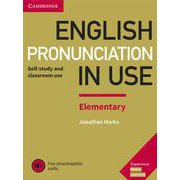 English Pronunciation in Use Elementary Book with Answers and Downloadable Audio [洋書ELT]