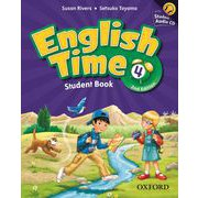English Time 2nd Edition Level 4 Student Book with Student CD Pack [洋書ELT]