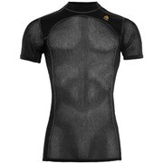 WOOLNET T-Shirt Ms ウールネット T シャツ 101637 Jet Black Mサイズ [アウトドア アンダーウェア メンズ]