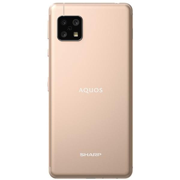 AQUOS sense4 ライトカッパー SH-M15C [SIMフリースマートフォン/5.8インチ/RAM 4GB/ROM 64GB/Android 10]