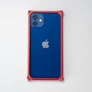 GI-429R [iPhone 12 mini 用 ソリッドバンパー レッド]