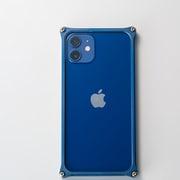 GI-429MBL [iPhone 12 mini 用 ソリッドバンパー マットブルー]