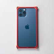 GI-430R [iPhone 12 Pro Max 用 ソリッドバンパー レッド]