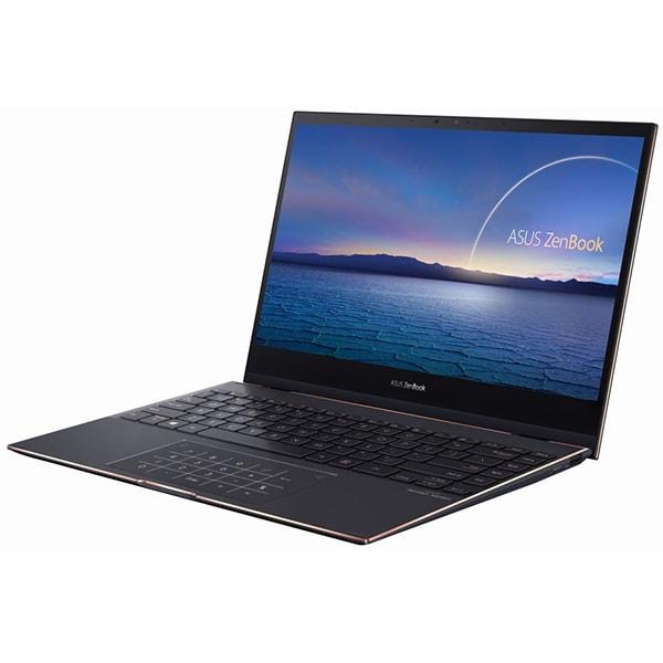 UX371EA-HL003TS [ASUS ZenBook Flip S 13.3型/Core i7-1165G7/メモリ 16GB/SSD 1TB/Windows 10 Home 64ビット/Microsoft Office Home & Business 2019/ジェードブラック]