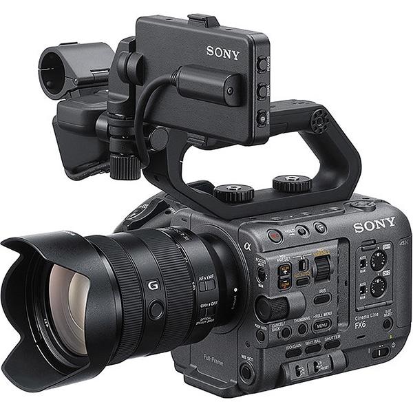 ILME-FX6VK [Cinema Lineカメラ ボディ+交換レンズ「SEL24105G」]