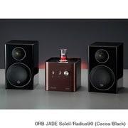 JADE Soleil/Radius90 (Co/Bl) [ヘッドフォンアンプ内蔵プリメインアンプ+コンパクト2wayモニタースピーカー コラボレーションシステム Cocoa(JADE Soleil)×Black(Radius90)]
