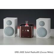 JADE Soleil/Radius90 (Co/Wh) [ヘッドフォンアンプ内蔵プリメインアンプ+コンパクト2wayモニタースピーカー コラボレーションシステム Cocoa(JADE Soleil)×White(Radius90)]