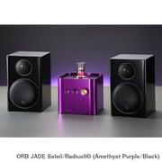 JADE Soleil/Radius90 (Am/Bl) [ヘッドフォンアンプ内蔵プリメインアンプ+コンパクト2wayモニタースピーカー コラボレーションシステム Amethyst Purple(JADE Soleil)×Black(Radius90)]