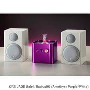 JADE Soleil/Radius90 (Am/Wh) [ヘッドフォンアンプ内蔵プリメインアンプ+コンパクト2wayモニタースピーカー コラボレーションシステム Amethyst Purple(JADE Soleil)×White(Radius90)]