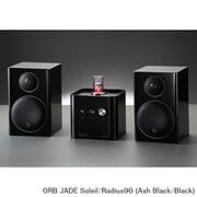 JADE Soleil/Radius90 (As/Bl) [ヘッドフォンアンプ内蔵プリメインアンプ+コンパクト2wayモニタースピーカー コラボレーションシステム Ash Black(JADE Soleil)×Black(Radius90)]