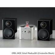 JADE Soleil/Radius90 (Ci/Bl) [ヘッドフォンアンプ内蔵プリメインアンプ+コンパクト2wayモニタースピーカー コラボレーションシステム JADE Soleil Cinderella×Radius90(Black)]