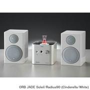 JADE Soleil/Radius90 (Ci/Wh) [ヘッドフォンアンプ内蔵プリメインアンプ+コンパクト2wayモニタースピーカー コラボレーションシステム JADE Soleil Cinderella×Radius90(White)]