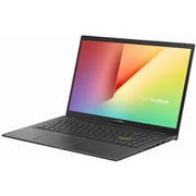 K513EA-BQ614T [ASUS VivoBook S15 15.6型/i7-1165G7/メモリ 8GB/SSD 256/HDD 1TB/Windows 10 Home 64ビット/WPS Office Standard Edition/インディーブラック]