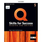 Q: Skills for Success 3/E: Reading and Writing Level 5 Student Book with iQ Online Practice [洋書ELT]