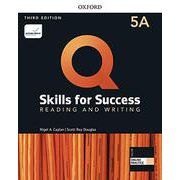 Q: Skills for Success 3/E: Reading and Writing Level 5 Student Book A with iQ Online Practice [洋書ELT]