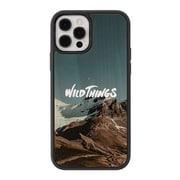 iPhone 12 / iPhone 12 Pro 用 WILDTHINGS×kibaco WOOD CASE 木製ケース Ridge