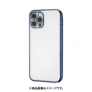 RT-P29PFC2/AM [iPhone 12 Pro 用 PerfectFit メタリックケース ブルー]