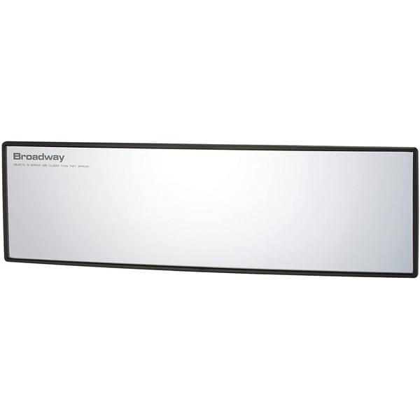 BW-865 ワイドルームミラーA 270R 明るいアルミ裏面鏡 曲面鏡 セダン ...