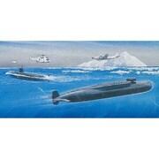 DR7003 1/700 潜水艦 海上自衛隊ゆうしお VS ソビエト デルタIII [組立式プラスチックモデル]
