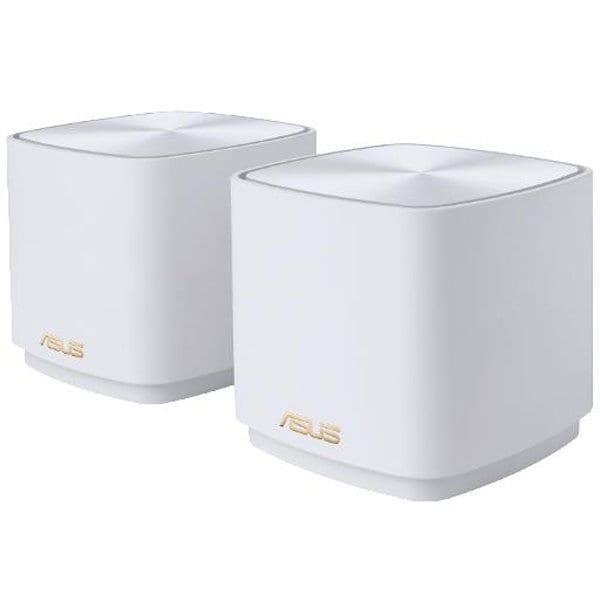 ZENWIFI/XD4/2-PACK/WHITE [11AX(Wi-Fi6)対応 デュアルバンドメッシュルーター ZenWiFi XD4 2個パック ホワイト]