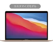 MacBook Air 13インチ Apple M1チップ(8コアCPU/7コアGPU)/SSD 256GB/メモリ 16GB/カスタマイズモデル(CTO) 日本語(JIS)キーボード ゴールド [Z12A0005R]