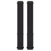POLAR UNITE/IGNITE 対応 フック&ループ リストバンド 20mm S-L ブラック [フィットネスウォッチ用アクセサリー]